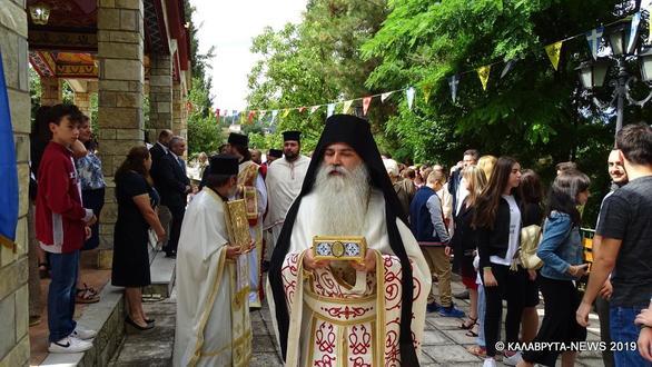 Γουμένισσα Καλαβρύτων: Με λαμπρότητα έγινε η εορτή της Αγίας Μαρίνας (pics)