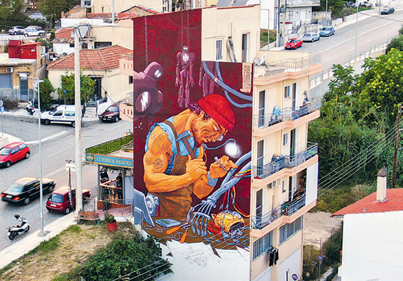 Πάτρα - Η ελληνική πρωτεύουσα των murals!