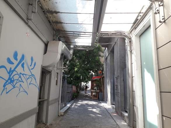 Πάτρα - Ο πεζόδρομος της Βούρβαχη υπό την σκιά του φίκου (φωτο)