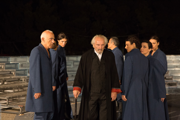 """Τρίτη παράσταση του """"Προμηθέα Δεσμώτη"""", στο Ρωμαϊκό Ωδείο της Πάτρας!"""