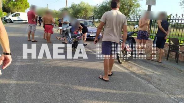 Τραγωδία στην Ηλεία: Νεκρός 30χρονος μοτοσυκλετιστής σε τροχαίο (φωτο)