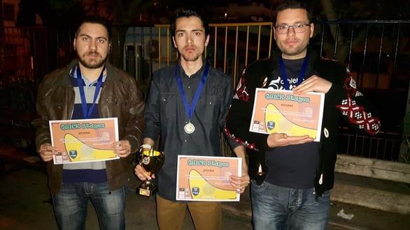 Ο Δημήτρης Κοσμόπουλος από τα Καλάβρυτα, στην «Ολυμπιάδα Αθλημάτων Νόησης 2019»!