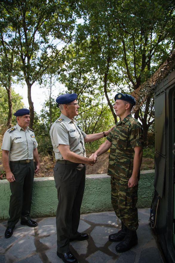Επίσκεψη Αρχηγού Γενικού Επιτελείου Στρατού στην ΠΕ