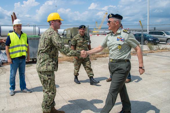 Επίσκεψη Αρχηγού Γενικού Επιτελείου Στρατού στο Λιμάνι της Αλεξανδρούπολης