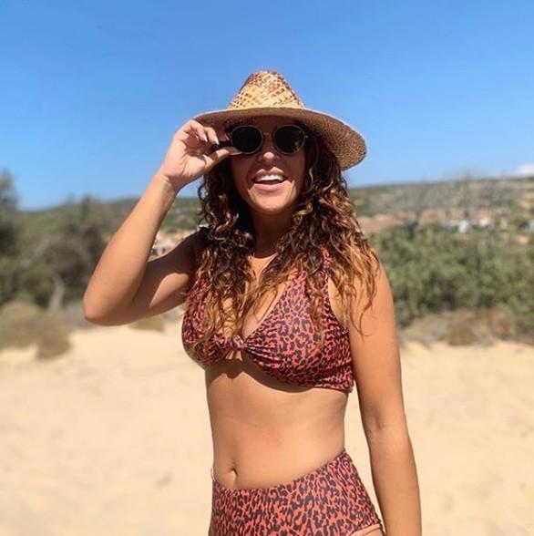 Τις διακοπές της απολαμβάνει η Γιάννα Τερζή