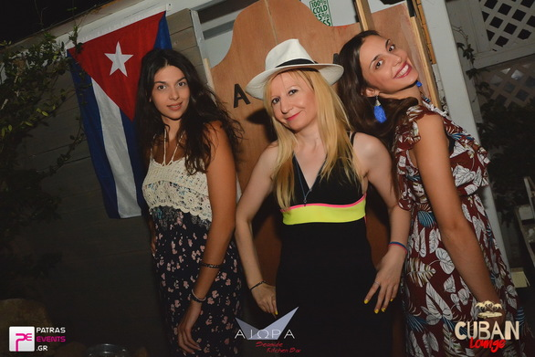 Cuban Lounge Nights at Αιώρα 21-08-19