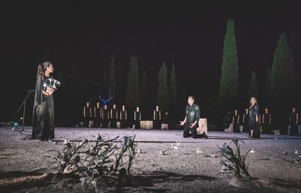 «Ιφιγένεια η εν Αυλίδι» στο Αρχαίο Θέατρο Δίου