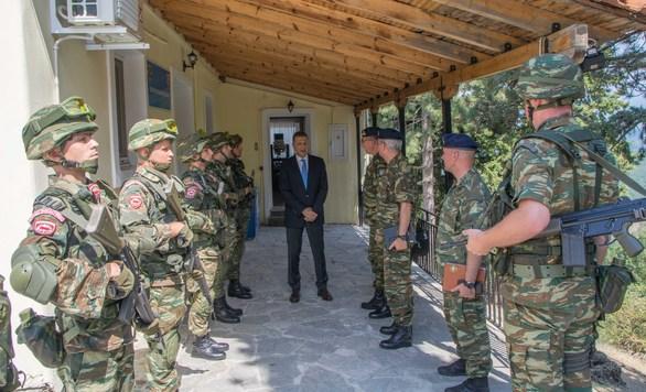Επίσκεψη ΥΦΕΘΑ Αλκιβιάδη Στεφανή στο νομό Ιωαννίνων