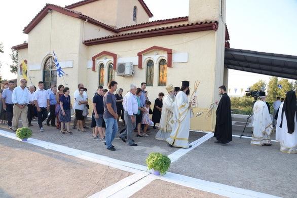 Ο μοναδικός ναός της Αγίας Πολυχρονίας στην Ελλάδα είναι στα Μποντέϊκα Αχαΐας (φωτο)
