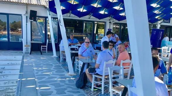 Πάτρα: Γεύμα στην Πλαζ για τον πρίγκιπα Αλβέρτο