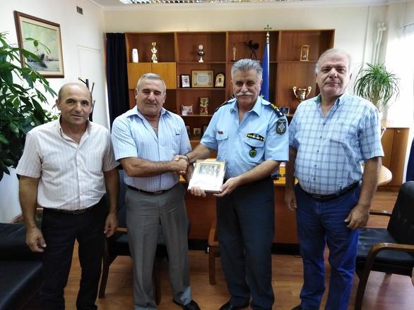 Ο Σύνδεσμος Αποστράτων Συνταξιούχων Σωμάτων Ασφαλείας Αιγιαλείας επισκέφθηκε τη Γενική Περιφερειακή Αστυνομική Διεύθυνση Δυτικής Ελλάδας