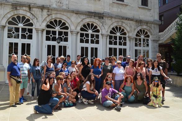 Ο σύλλογος ΑΣΤΟ-επικοινωνούμε επισκέφθηκε την Κωνσταντινούπολη (pics)