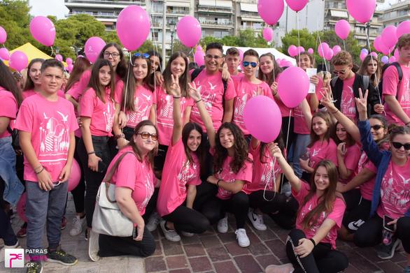 H Πάτρα ετοιμάζεται να γίνει ροζ για 7η συνεχή χρονιά!