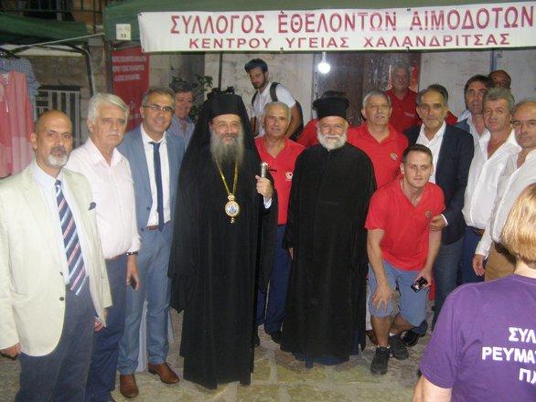 Αχαΐα: 17η Πανελλήνια Λαμπαδηδρομία στην Χαλανδρίτσα (φωτο)