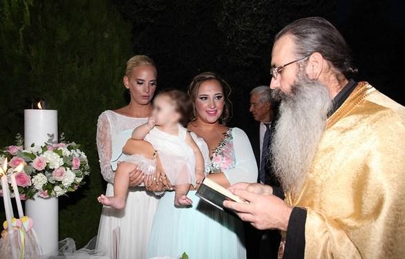 Η Άννη Πανταζή και ο Χριστόφορος Χούμας ενώθηκαν με τα ιερά δεσμά του γάμου! (φωτο)