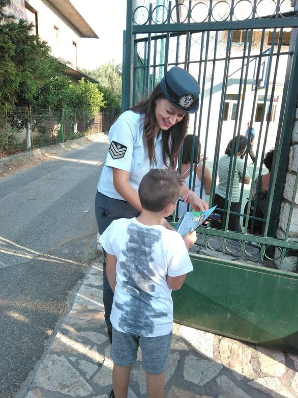 Δυτική Ελλάδα: Η Ελληνική Αστυνομία βρέθηκε για ακόμη μια χρονιά στα Δημοτικά Σχολεία (φωτο)