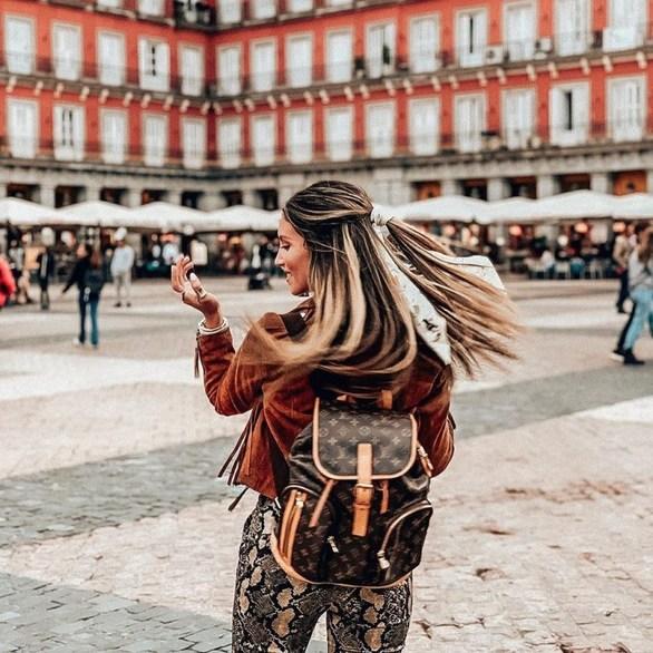 Αθηνά Οικονομάκου - Σαββατοκύριακο στην Ισπανία! (φωτο)