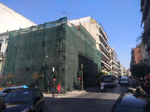 Πάτρα: Σε πλήρη εξέλιξη οι εργασίες επισκευής του κτιρίου του Δημοτικού Ωδείου (pics)