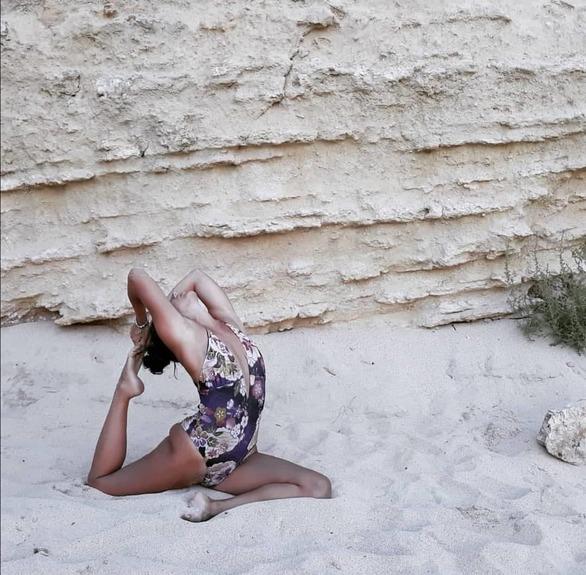 Θεοδώρα Κονταρίνη - Όταν γνώρισε τη γιόγκα έμαθε να... συναγωνίζεται τον εαυτό της (pics)