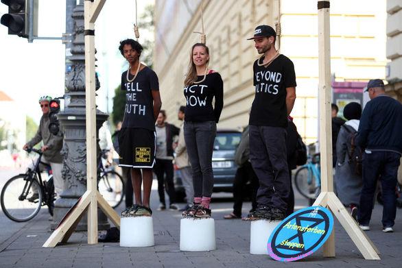 Παγκόσμια κινητοποίηση για την κλιματική αλλαγή - Η νέα γενιά βγήκε στους δρόμους (φωτο)