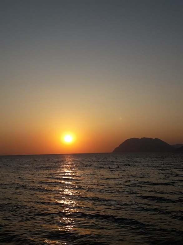 Ηλιοβασίλεμα για... like στην Πάτρα (φωτο)