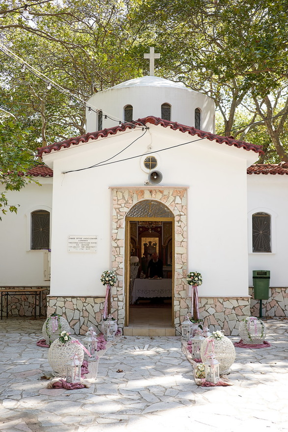 Παναγιώτης & Γεωργία: Ένα όμορφο ζευγάρι από την Πάτρα ανέβηκε τα σκαλιά της εκκλησίας! (pics)