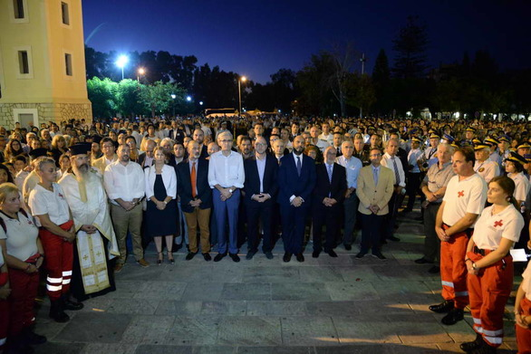 Με λαμπρότητα η λιτανεία της Τιμίας Κάρας του Πρωτοκλήτου στην Πάτρα - Δείτε φωτό
