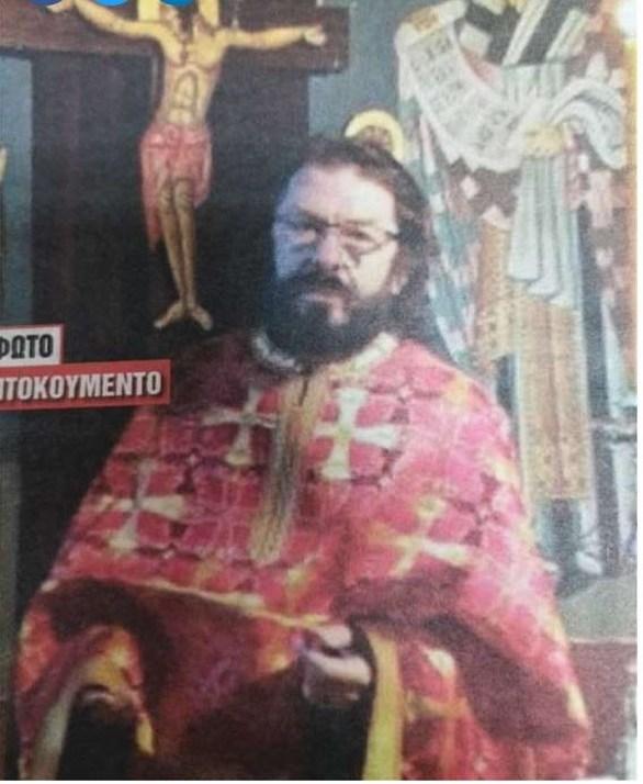 Ο Νίκος Χορταρέας φόρεσε τα ράσα (φωτο)