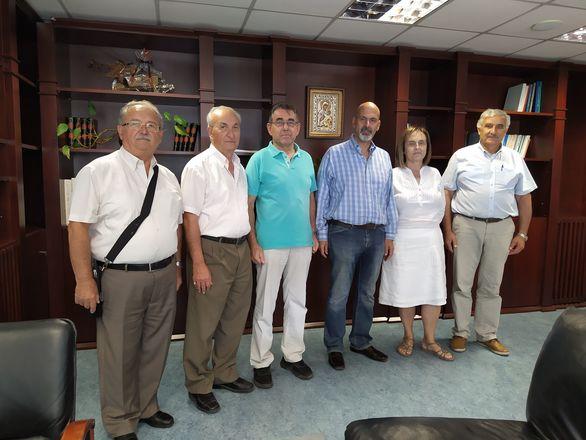 Συναντήσεις Χαράλαμπου Μπονάνου, με συλλόγους της Χαλανδρίτσας (φωτο)