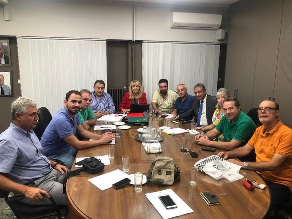 Σύσκεψη με το νέο διοικητή της 6ης ΥΠΕ. πραγματοποίησε ο Ιατρικός Σύλλογος Πατρών!
