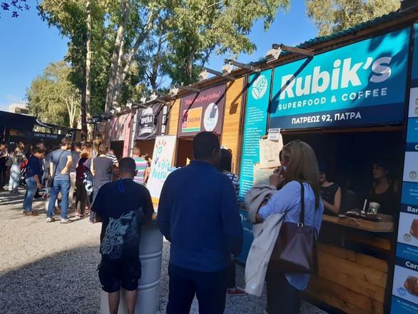 Ροή κόσμου στο Patras Street Food Festival από την πρώτη κιόλας ημέρα - Νέες φωτογραφίες