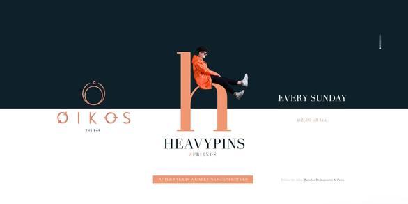Heavy Pins & Friends at Oikos Bar
