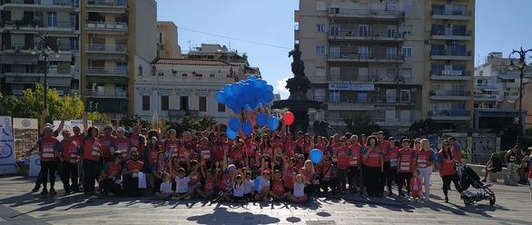 Ο Σύλλογος Ατόμων με Σακχαρώδη Διαβήτη Πάτρας στο Run Greece (φωτο)
