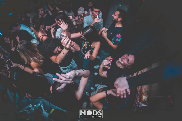 Trash Party at Mods Club 09-10-19