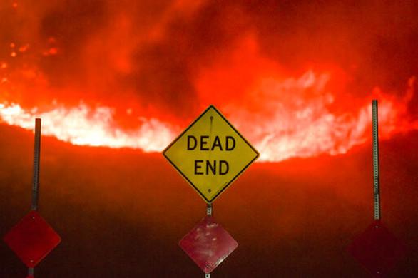 Φονική πυρκαγιά στην Καλιφόρνια - Δύο νεκροί