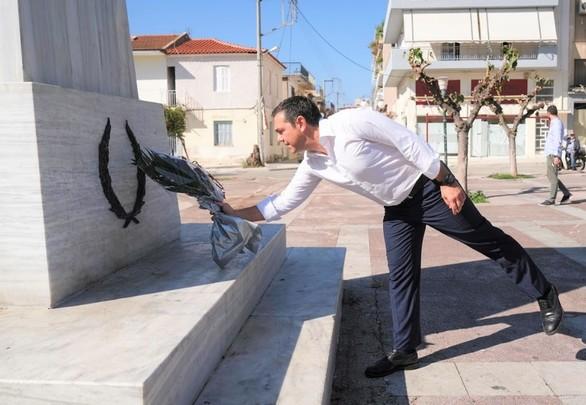Ο Αλέξης Τσίπρας συνεχίζει τις επαφές του στην Αχαΐα (φωτο)