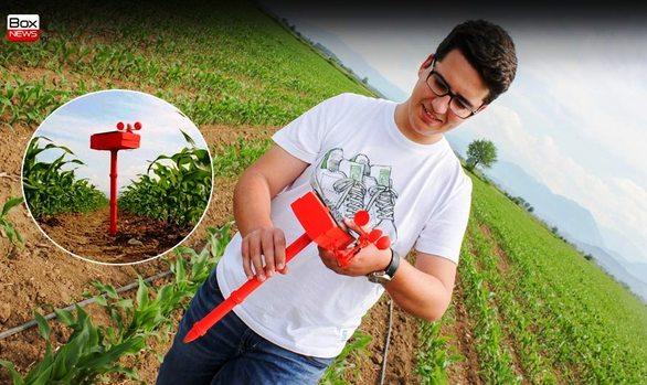 Ο φοιτητής του Πανεπιστημίου Πατρών που αλλάζει την ζωή των αγροτών!