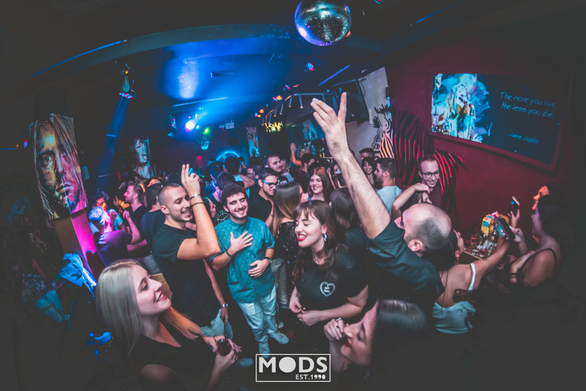 Trash Party at Mods Club 16-10-19