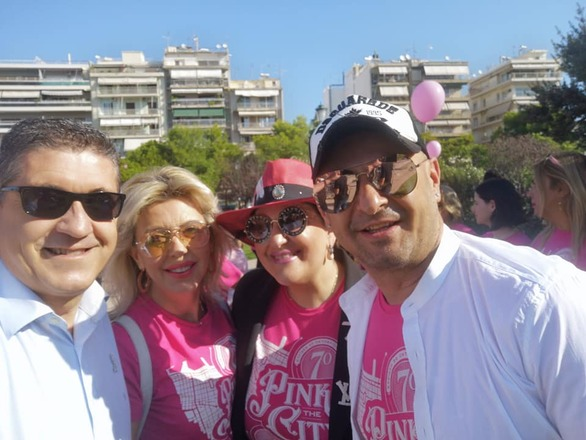 """Το Pink the City αναζωπύρωσε την ελπίδα """"βάφοντας"""" την Πάτρα ροζ! (pics)"""