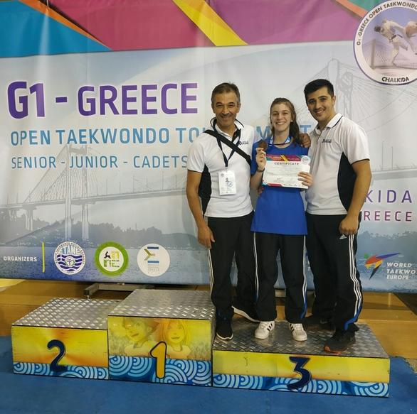 Δύο μετάλλια στο G1 Greece Open για τη Δύναμη Πατρών (φωτο)
