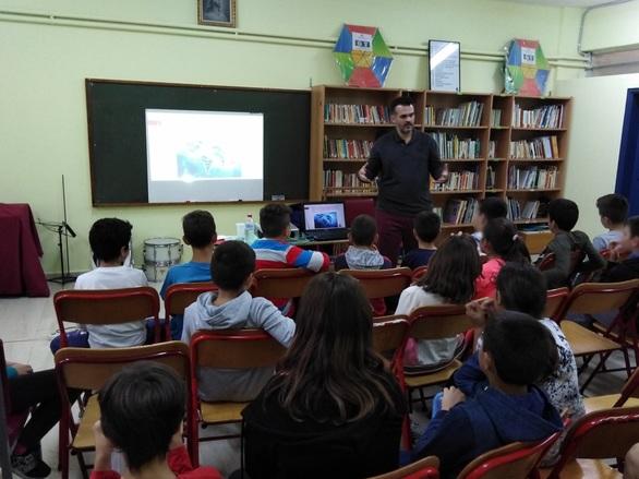 Πάτρα - Μαθητές του 1ου Δημοτικού Σχολείου Οβρυάς, ξεναγήθηκαν στο διαδίκτυο! (φωτο)
