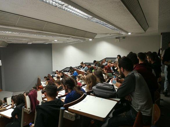Πάτρα: Σύσκεψη φοιτητών για τον εορτασμό του Πολυτεχνείου (φωτο)