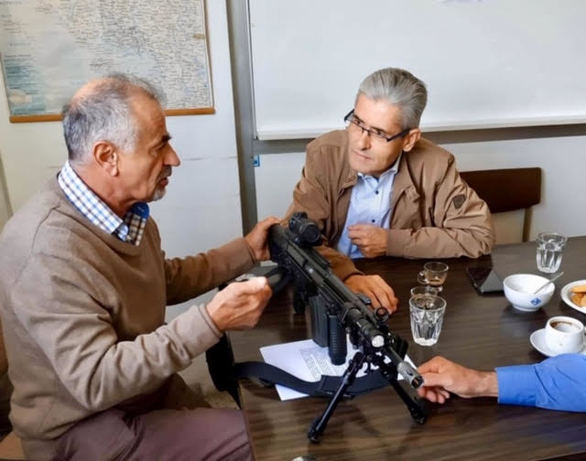 Ο Άγγελος Τσιγκρής επισκέφθηκε την Ελληνική Βιομηχανία Όπλων στο Αίγιο