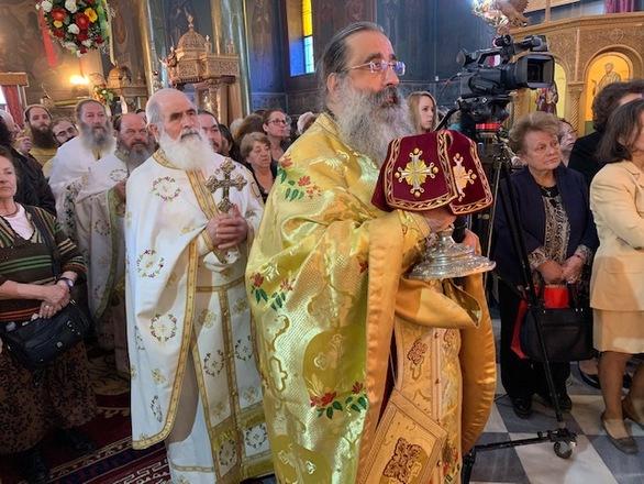 Αρχιερατικό Συλλείτουργο για τον Άγιο Νεκτάριο στην Πάτρα (φωτο)