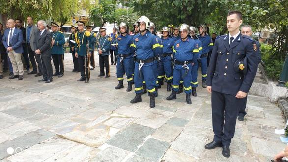 Πάτρα: Τελέστηκε επιμνημόσυνη δέηση στη μνήμη πυροσβεστών