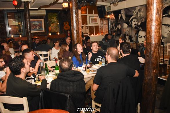 Αναδρομή στο Ελληνικό τραγούδι στο Ταμάμ 13-11-19