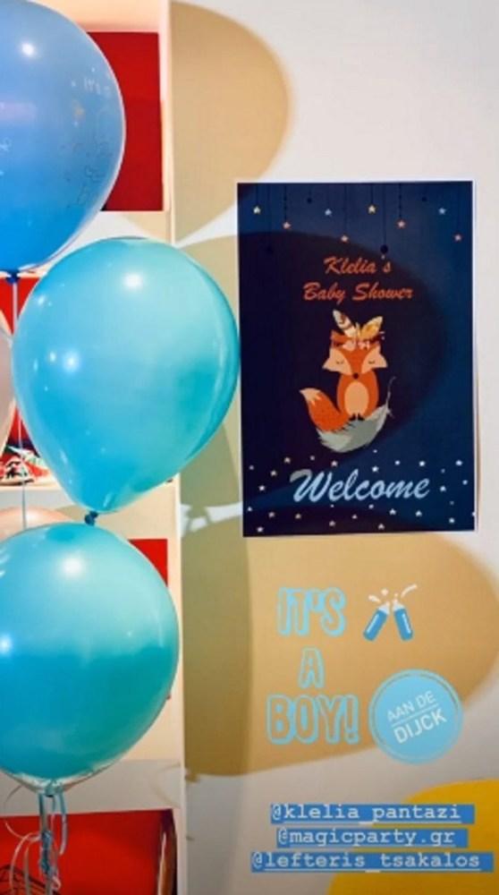 Κλέλια Πανταζή - Το baby shower λίγο πριν γεννήσει (φωτο)