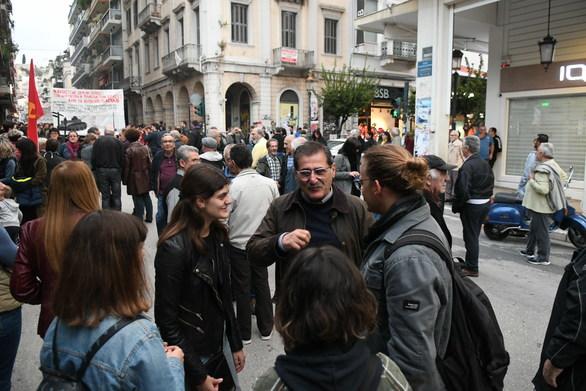 Πάτρα - Η Δημοτική Αρχή στην πορεία για την επέτειο εξέγερσης του Πολυτεχνείου (φωτο)
