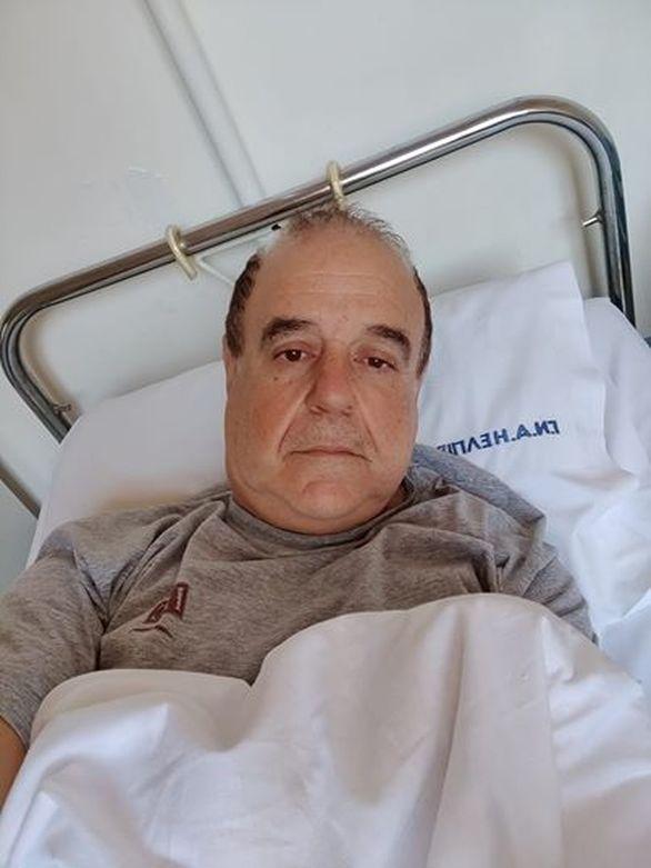 Μεταφέρθηκε στο νοσοκομείο ο Παύλος Χαϊκάλης (video)