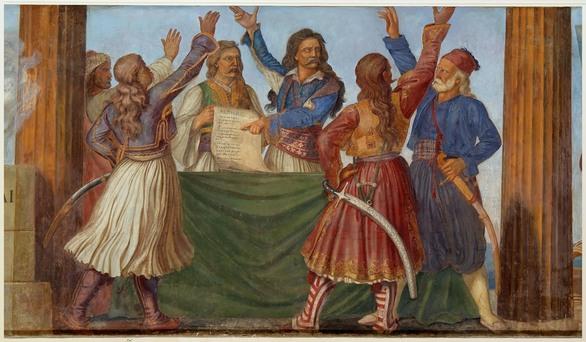 Εγκαίνια της έκθεσης «Βουλή των Ελλήνων. Οι  σταθμοί μιας διαδρομής σχεδόν διακοσίων ετών»